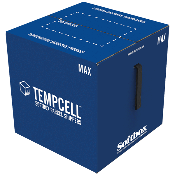 Tempcell Parcel Shipper - Softbox Cold Chain Parcel Shipper